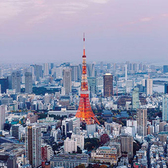 La capitale Tokyo